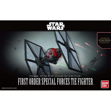 Bandai First Order Tie fighter special forces Preventa