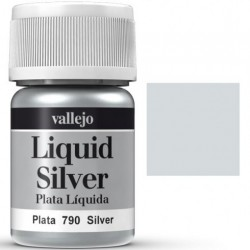 Liquid Metals in alcohol base Silver 35 ml. 70790