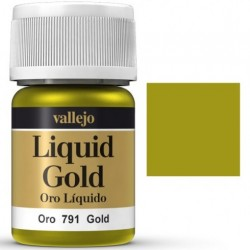 Liquid Metals in alcohol base Gold 35 ml. 70791