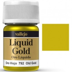 Liquid Metals in alcohol base Old Gold 35 ml. 70792