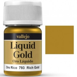 Liquid Metals in alcohol base Rich Gold 35 ml. 70793