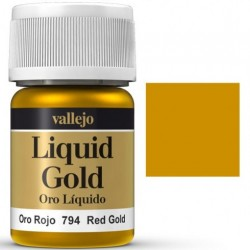 Liquid Metals in alcohol base Red Gold 35 ml. 70794