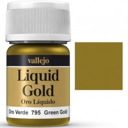 Liquid Metals in alcohol base Green Gold 35 ml. 70795