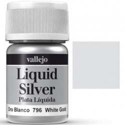 Liquid Metals in alcohol base White Gold 35 ml. 70796