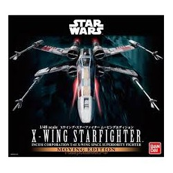 Bandai Red Squadron X-Wing Starfighte Moving Edition