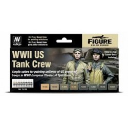 Model Color SET: WWII US Tank Crew